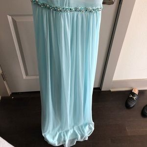 Dresses - Light blue prom dress!